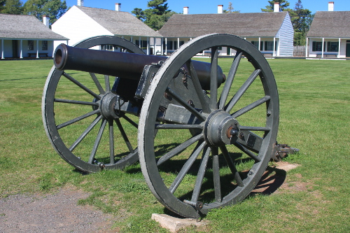 Cannon at Ft. Wilkins