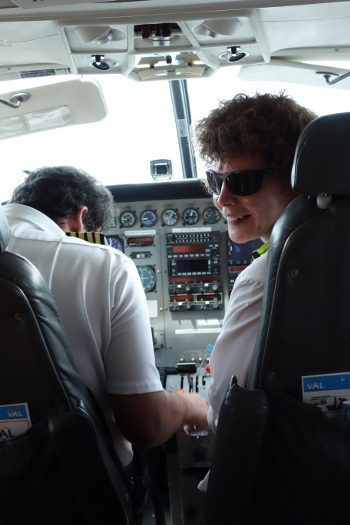 Kathy gets to enjoy playing copilot again